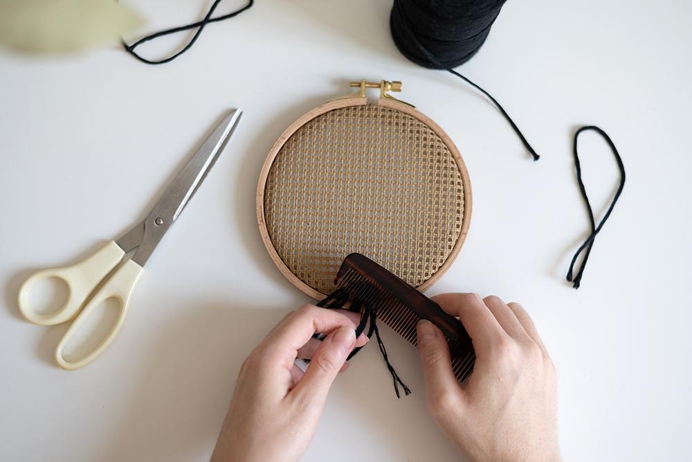 Stramin Boho-Deko   we love handmade