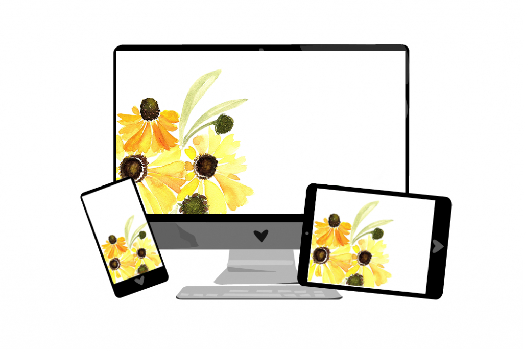 Wallpaper: Herbstblumen   we love handmade