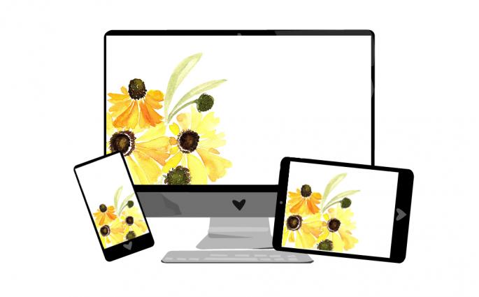 Wallpaper: Herbstblumen | we love handmade