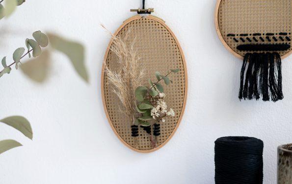 Wanddeko mit Stramin: Varianten | we love handmade