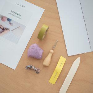 Werkzeug-Kit: Buchbinden | we love handmade