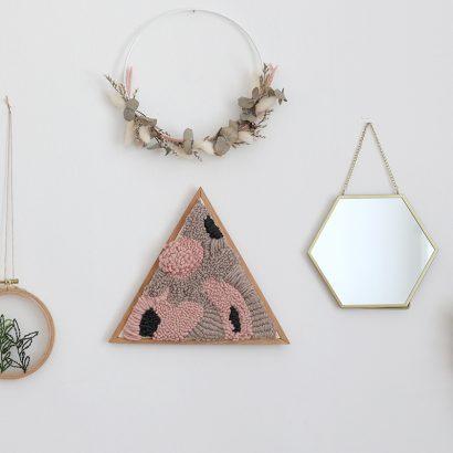 DIY: Punch Needle Wanddeko gestalten | we love handmade