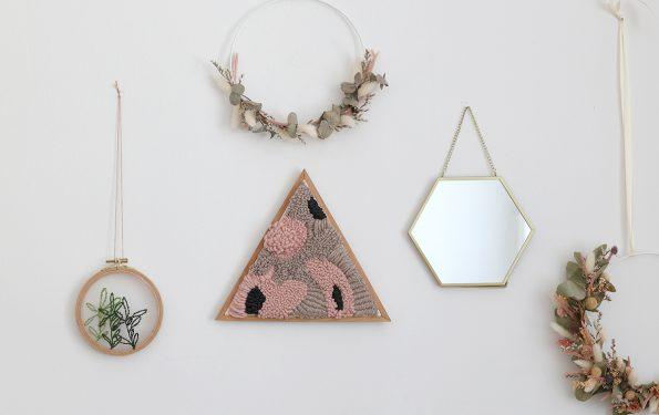 DIY: Punch Needle Wanddeko gestalten   we love handmade