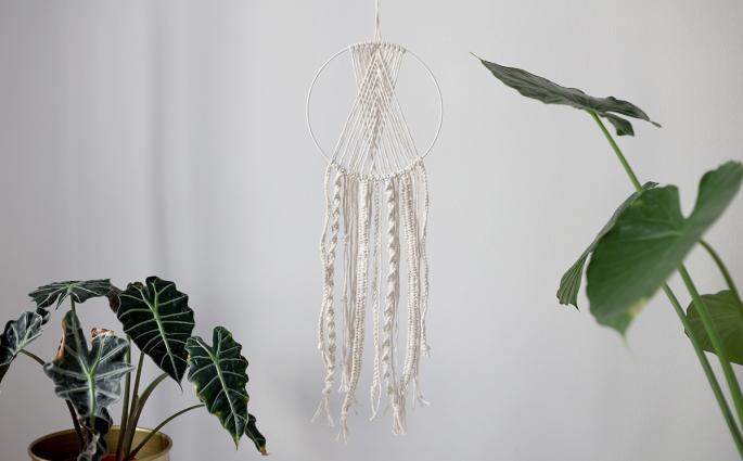 DIY: Makramee Traumfänger Klassisch für Anfänger geeignet | we love handmade